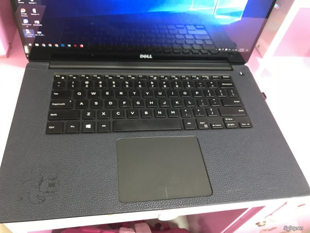 Bán Laptop Dell XPS 9550 - i7 6700HQ, Ram 16Gb, SSD 256Gb,  4k cảm ứng - 11