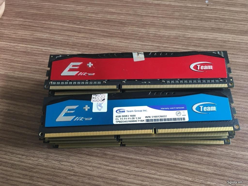 Ram máy tính DDR3 Gskill Ripjaws 4GB bus 1600 - GR4GB1600 - 3