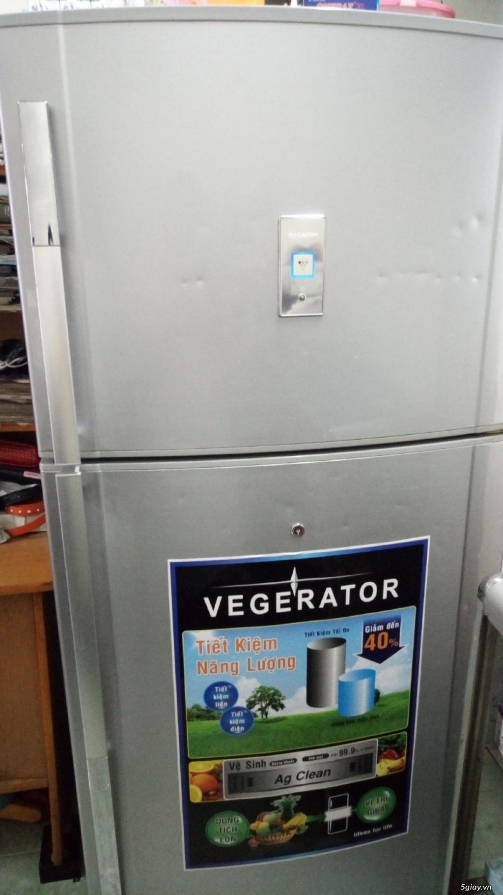 Tủ lạnh Sharp 526lit hoạt động hoàn hảo bán nhanh chật nhà