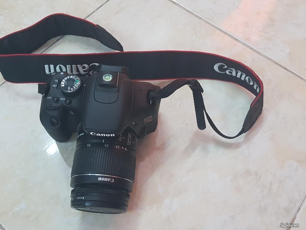 Cần bán: Máy ảnh Canon EOS REBEL T3i like new, rất ít dùng - 1