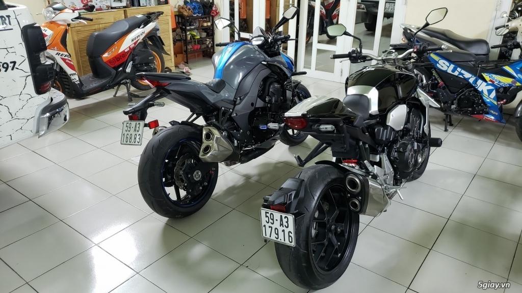 Bán Honda CB1000R Plus 10/2018 Ý và Kawasaki Z1000 8/2018 Châu Âu - 4