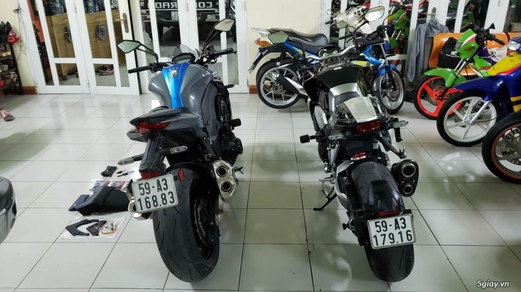 Bán Honda CB1000R Plus 10/2018 Ý và Kawasaki Z1000 8/2018 Châu Âu - 8