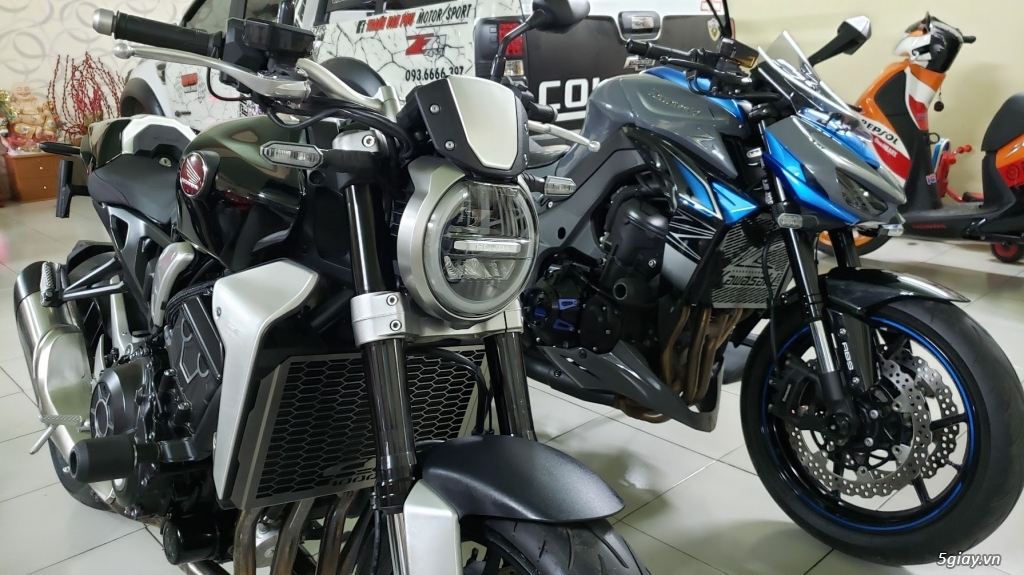 Bán Honda CB1000R Plus 10/2018 Ý và Kawasaki Z1000 8/2018 Châu Âu - 12