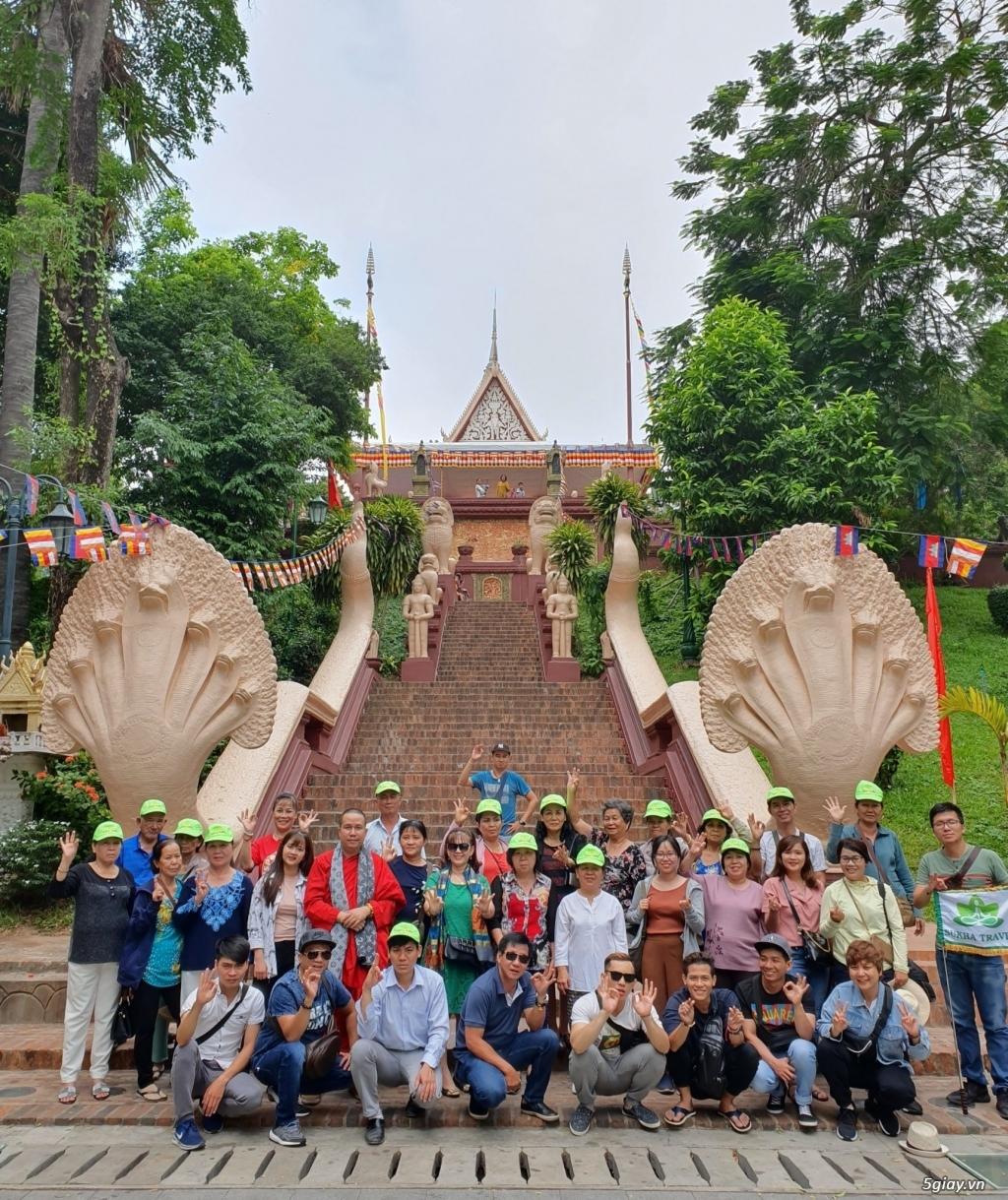 Chuyên Tour  Campuchia-Thái Lan 6N5Đ Giá Hot