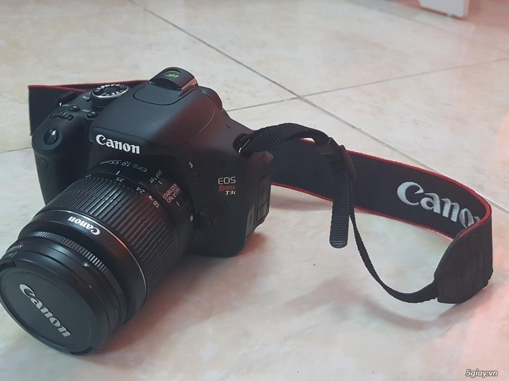 Cần bán: Máy ảnh Canon EOS REBEL T3i like new, rất ít dùng