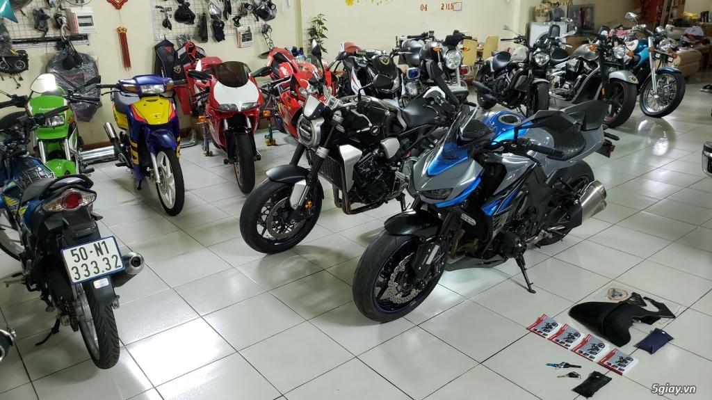 Bán Honda CB1000R Plus 10/2018 Ý và Kawasaki Z1000 8/2018 Châu Âu
