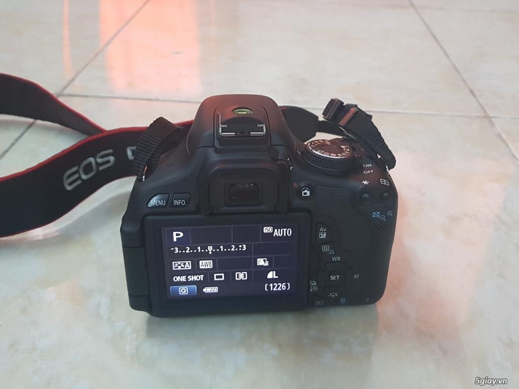 Cần bán: Máy ảnh Canon EOS REBEL T3i like new, rất ít dùng - 5