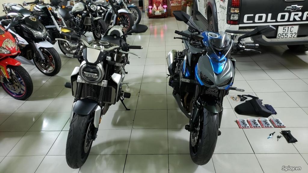 Bán Honda CB1000R Plus 10/2018 Ý và Kawasaki Z1000 8/2018 Châu Âu - 3