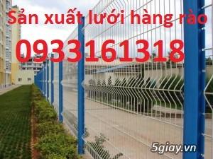Hàng rào lưới thép mạ kẽm, hàng rào lưới sơn tĩnh điện - 3