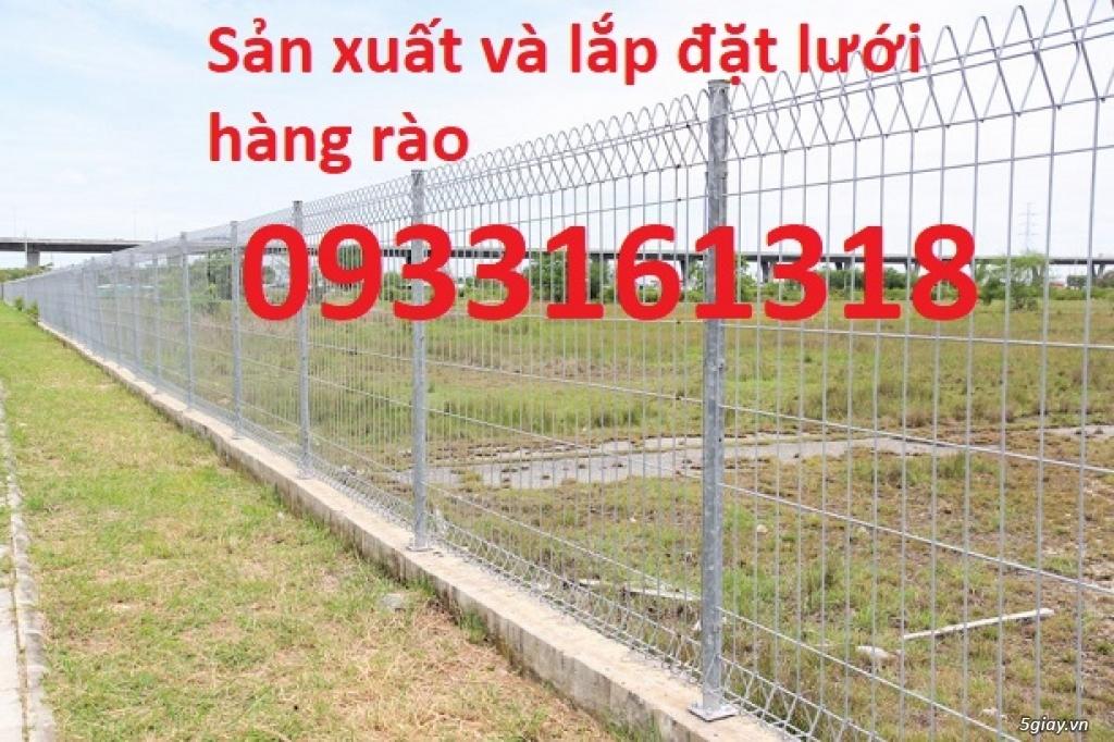 Hàng rào lưới thép mạ kẽm, hàng rào lưới sơn tĩnh điện - 2