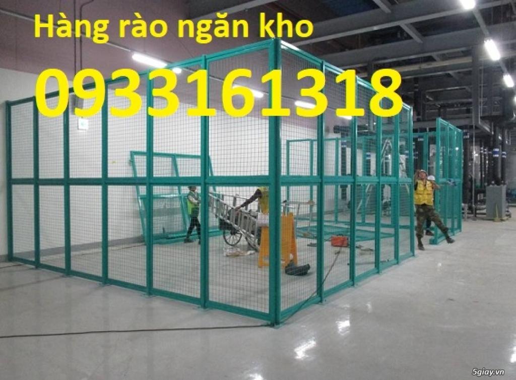 Hàng rào lưới thép mạ kẽm, hàng rào lưới sơn tĩnh điện - 4