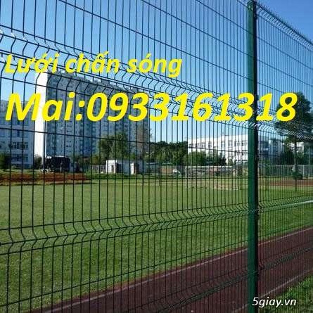 Hàng rào lưới thép mạ kẽm, hàng rào lưới sơn tĩnh điện - 5
