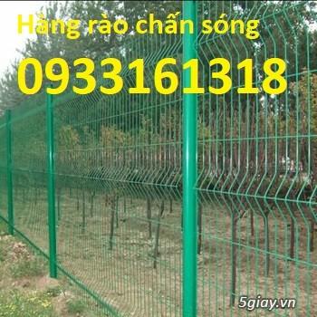 Hàng rào lưới thép mạ kẽm, hàng rào lưới sơn tĩnh điện