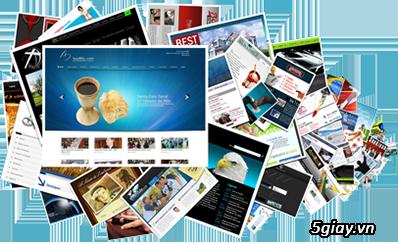 Thiết kế Website Chuyên nghiệp, Giá rẻ chỉ từ 1 triệu VNĐ
