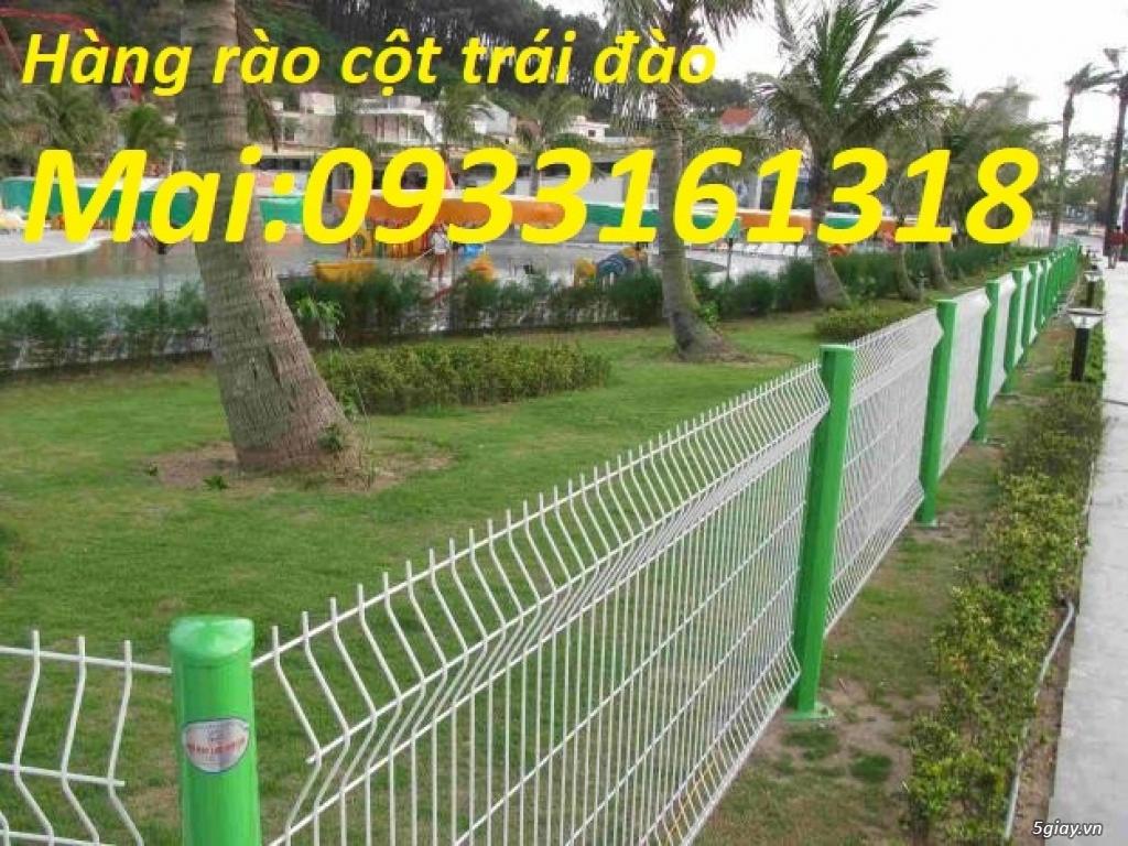 Hàng rào lưới thép mạ kẽm, hàng rào lưới sơn tĩnh điện - 1