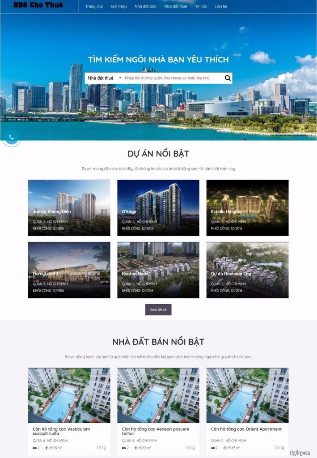 Thiết kế Website Chuyên nghiệp, Giá rẻ chỉ từ 1 triệu VNĐ - 2