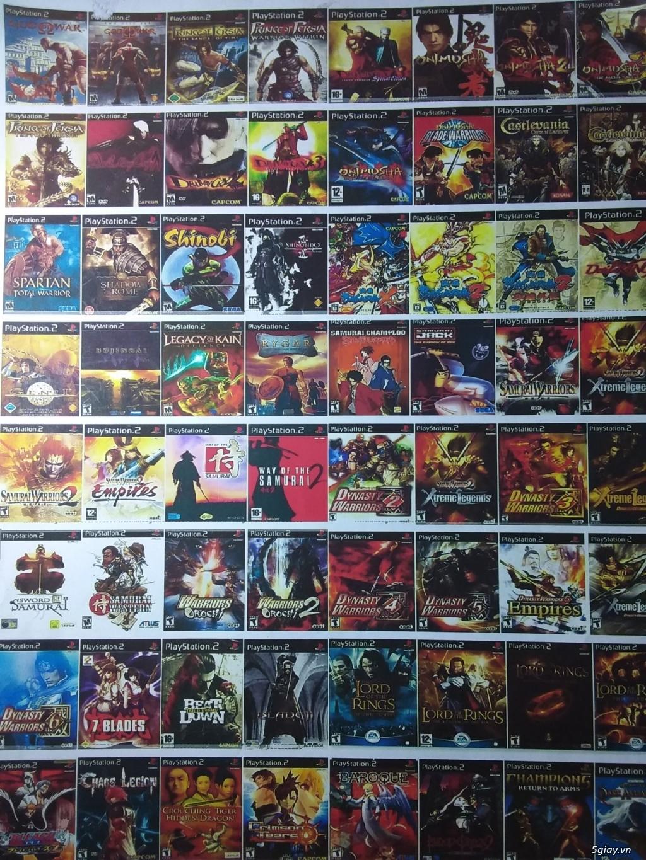 playstation-PS1- PS2- PS3 -PS4-psVITA-PSP-WII-NINTENDO-chuyên PS2 ổ cứng chép game bảo hành 1 đổi 1 - 6