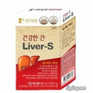Thực phẩm chức năng healthy Liver-S giải độc gan hạ men gan - 5