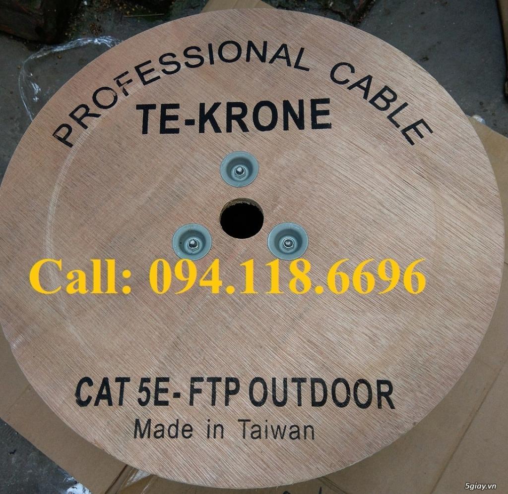 Cáp mạng TE-KRONE Cat5E Copper, CCA cáp chạy ngoài trời - 3
