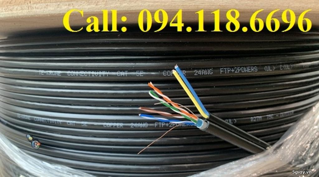 Cáp mạng TE-KRONE Cat5E Copper, CCA cáp chạy ngoài trời - 12