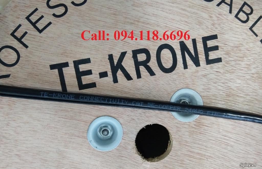Cáp mạng TE-KRONE Cat5E Copper, CCA cáp chạy ngoài trời - 10