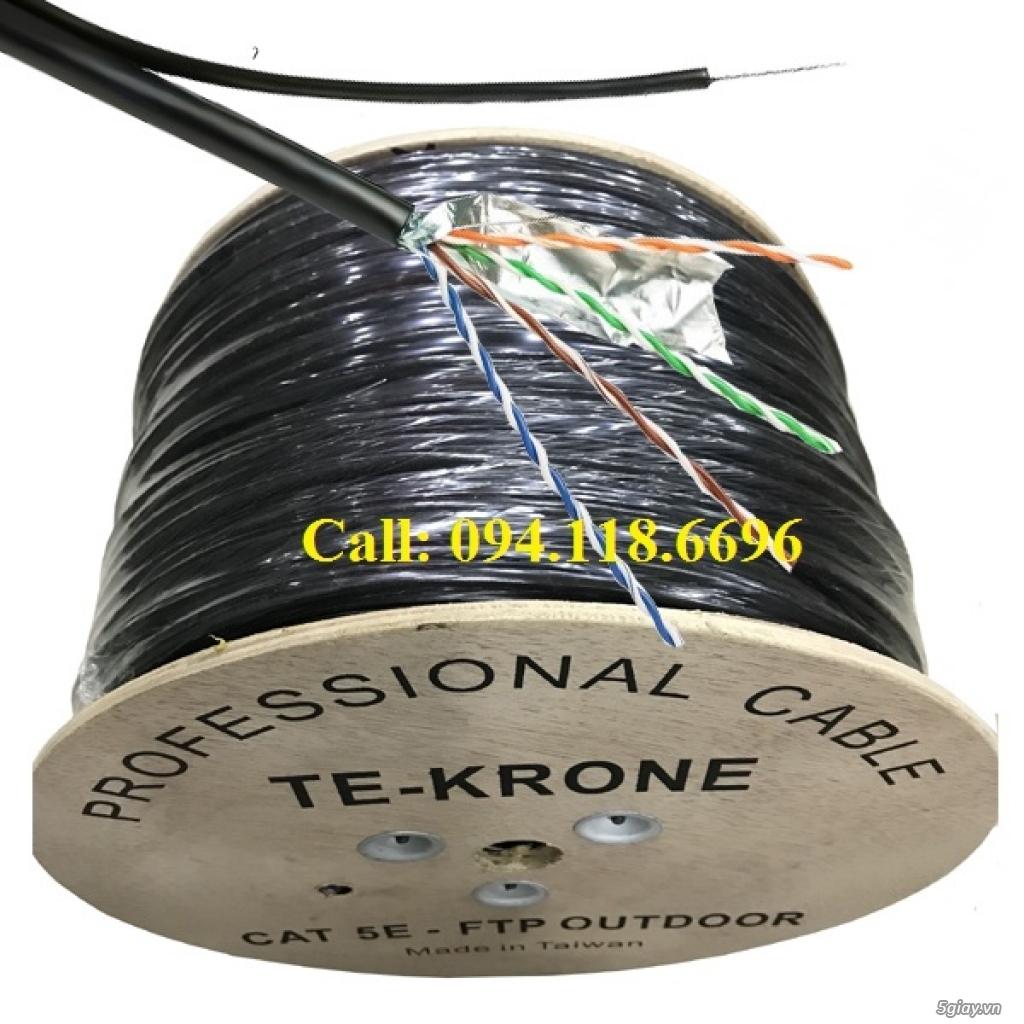 Cáp mạng TE-KRONE Cat5E Copper, CCA cáp chạy ngoài trời - 7