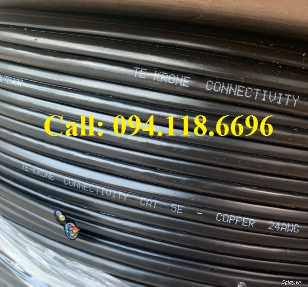 Cáp mạng TE-KRONE Cat5E Copper, CCA cáp chạy ngoài trời - 15