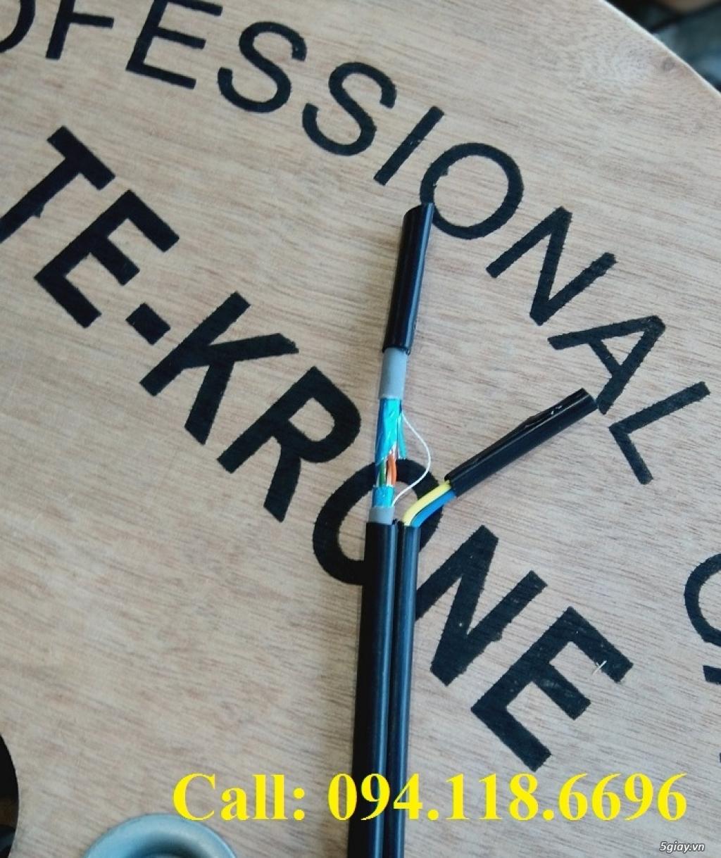 Cáp mạng TE-KRONE Cat5E Copper, CCA cáp chạy ngoài trời - 13