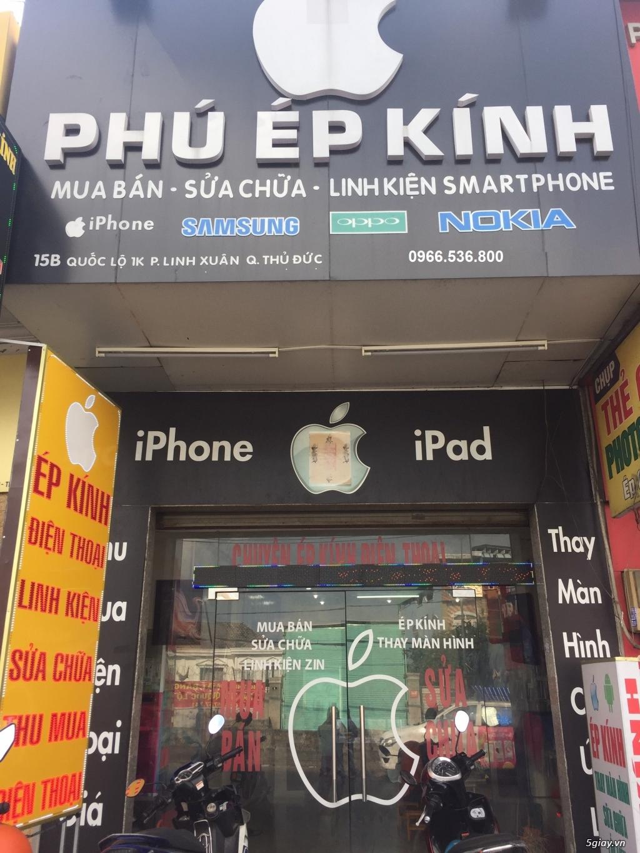 Ép Kính tại Thủ Đức giá rẻ -Ép Kính Iphone,Ipad lấy liền tại Thủ Đức