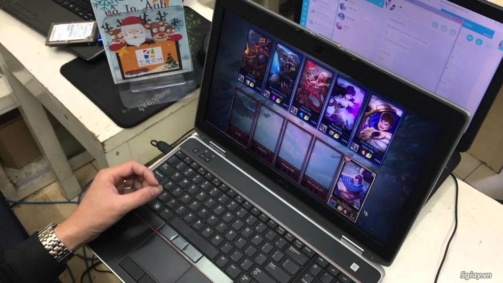 Laptop Dell E6520 i7 2620M VGA rời chơi Game, làm đồ hoạ