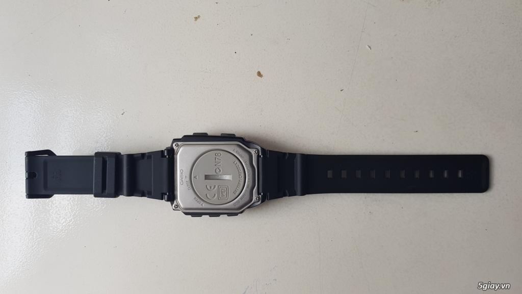Đồng hồ Casio chụp hình sx năm 2000 - 1