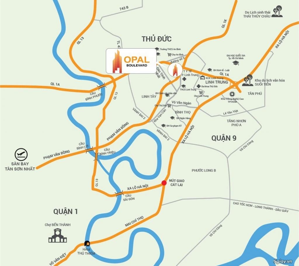 Mở suất nội bộ đợt cuối căn 3PN view cực đẹp Opal Boulevard-PhạmV Đồng