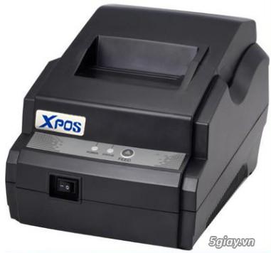 Máy in hoá đơn giá rẻ in bill tính tiền K58 - 1