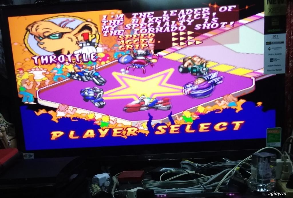 băng máy game 4 nút NES SNES SAGA -wii- PS2 250G  có 2 tay cầm loại 1.wii u hack full 32G - 20