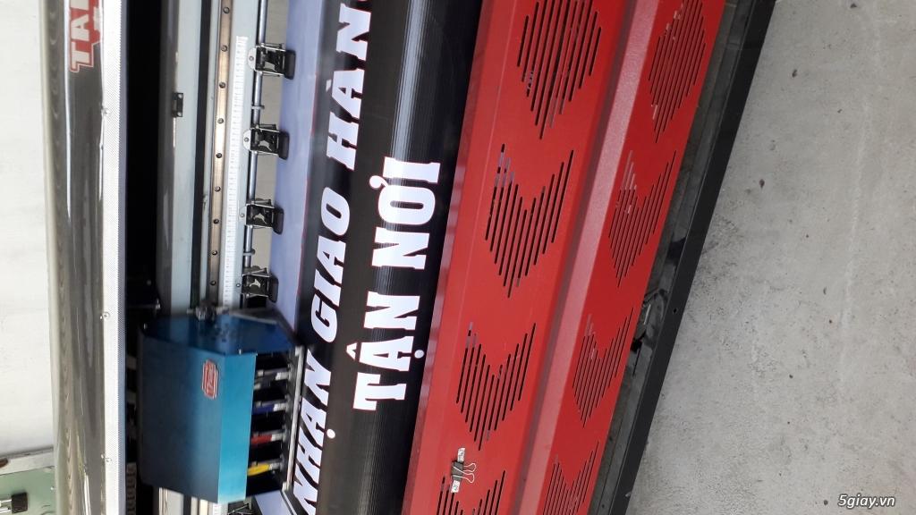 Thanh lý máy in bạt khổ lớn 3m2 - 1