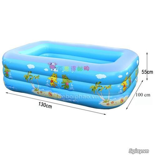 bể phao bơi chữ nhật cho trẻ em - 3