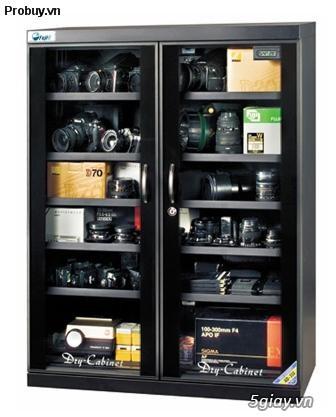 Tủ chống ẩm Fujie DHC350 (350 lít) hút ẩm cực nhanh