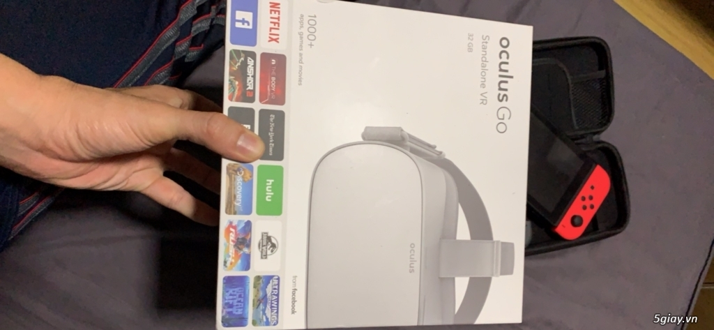 Oculus Go + Nin Switch Hacked + Ps4 Hacked + phụ kiện