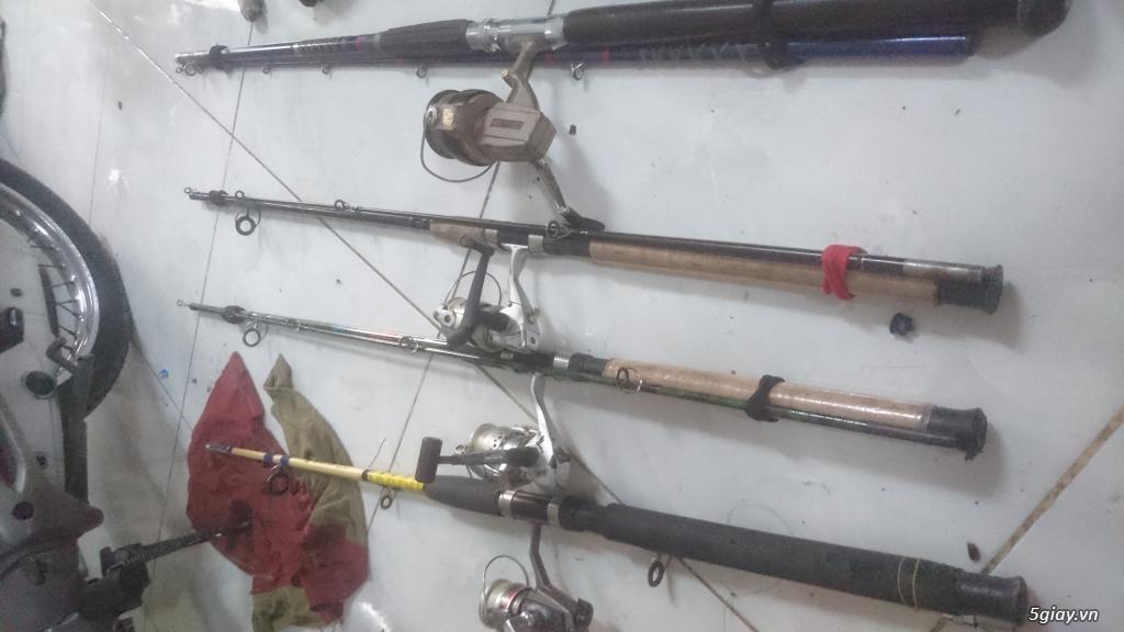Cần bán vài bộ cần câu cá dư dùng bán.