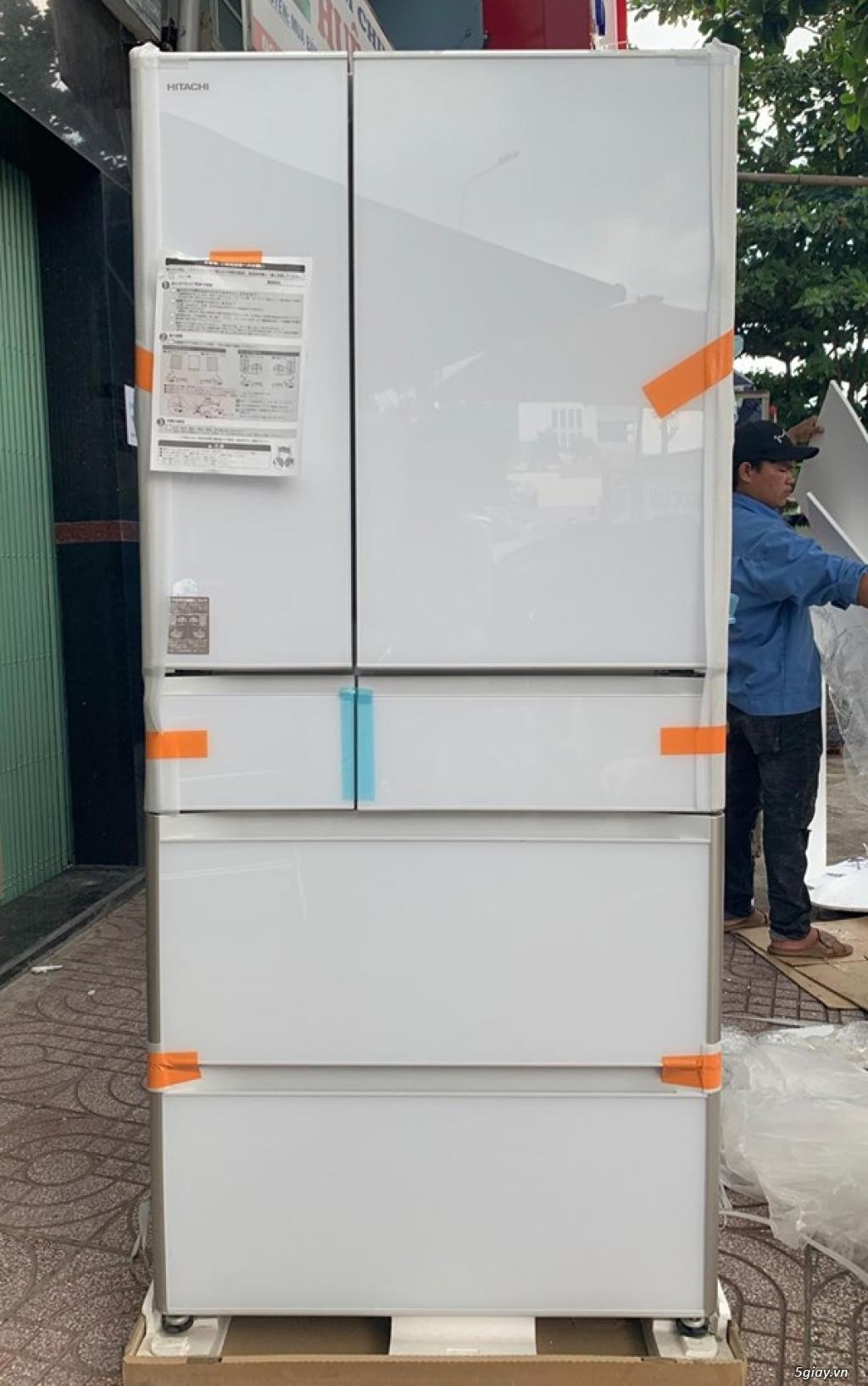 Tủ lạnh R-XG6700H Date cuối 2018 FULL BOX NEW 100%