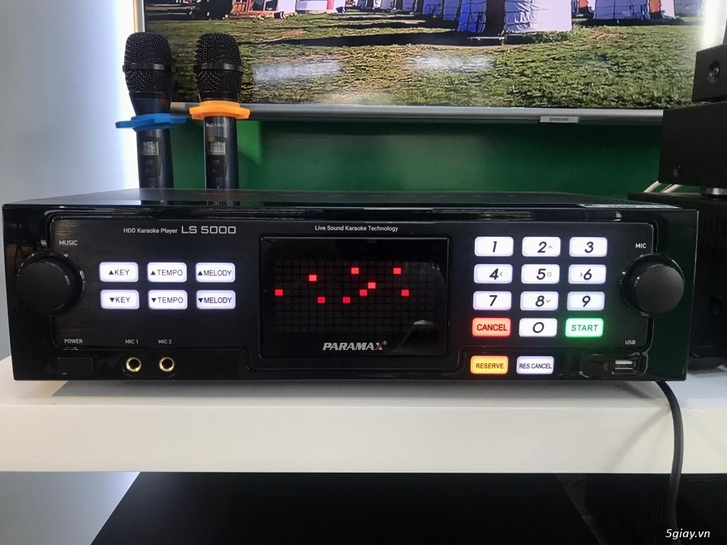 Cần bán: Đầu karaoke realsound PARAMAX LS-5000 (ổ cứng 3TB)