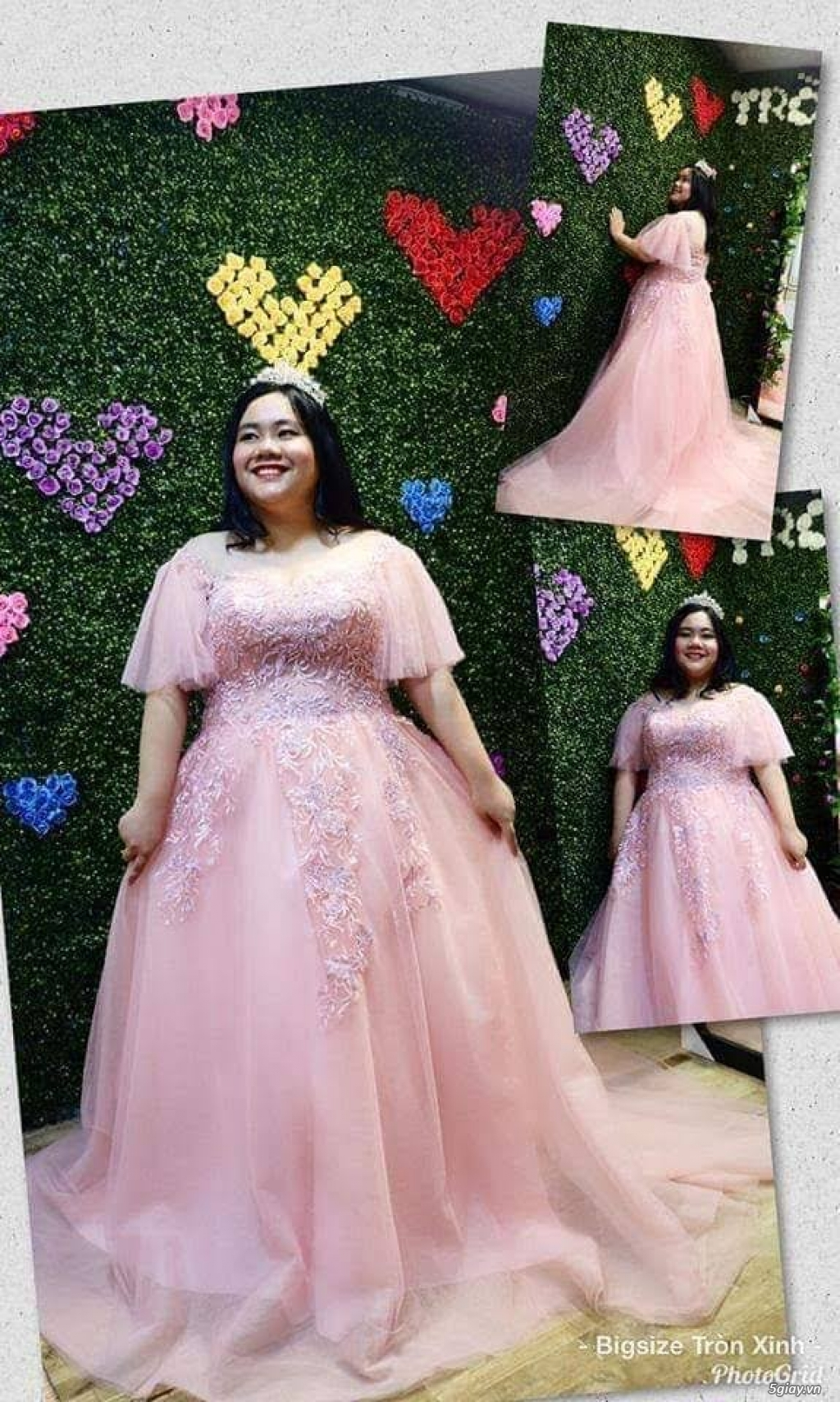 Áo cưới áo vest bigsize Tròn Xinh - 1