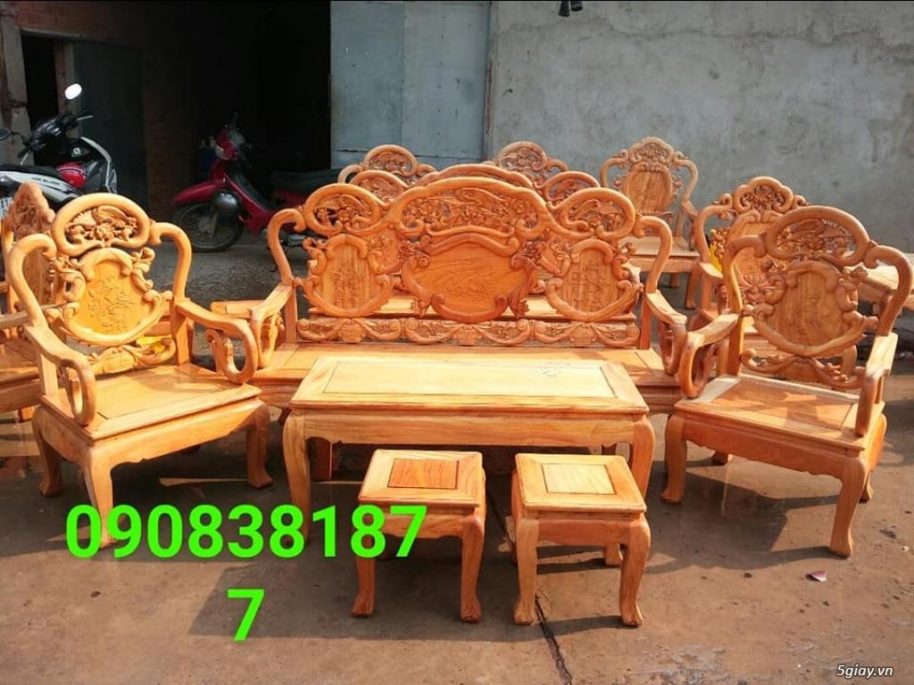 salon phòng khách gỗ quý giá cực rẻ ( xem hàng tại xưởng ) - 11