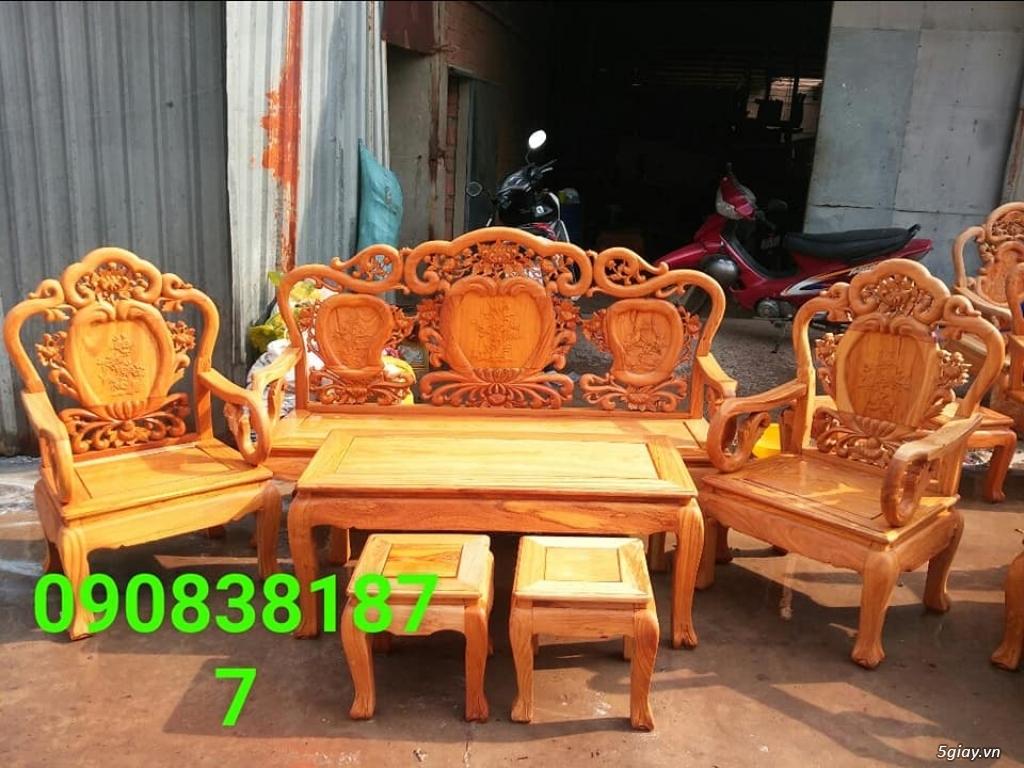 salon phòng khách gỗ quý giá cực rẻ ( xem hàng tại xưởng ) - 12