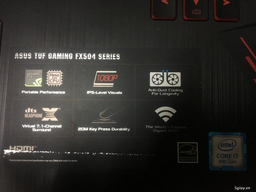 Asus Gaming chính hãng, Fullbox, dòng FX-TUF, máy chất, giá tốt!!! - 2