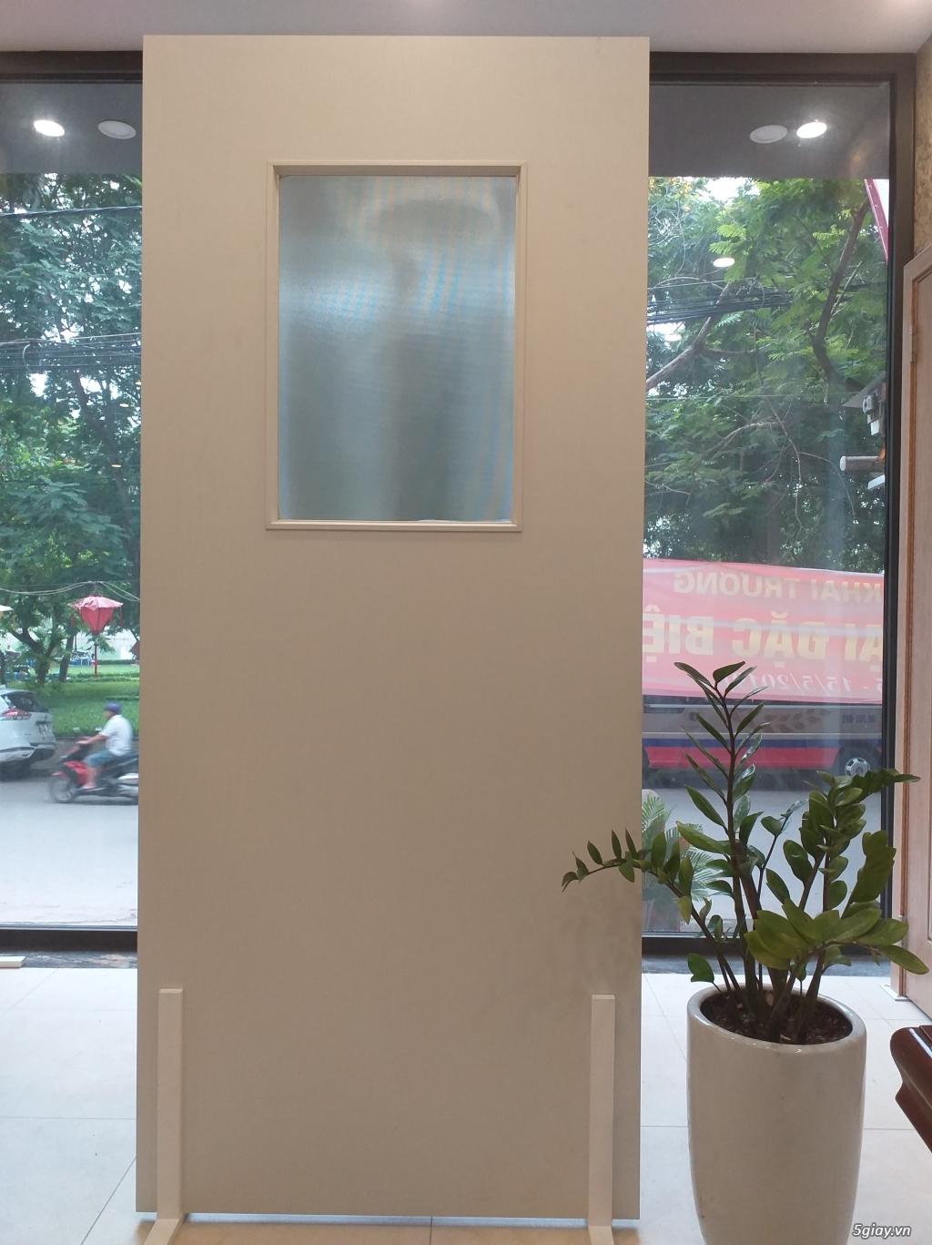 Cửa nhựa ABS không thấm nước phù hợp làm cửa nhà tắm, nhà vệ sinh 24.5 - 1