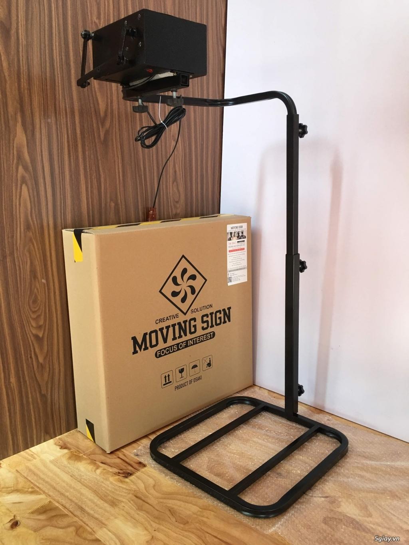 Mosi - Bộ sản phẩm xoay biển tự động dùng cho Shop thời trang - 4
