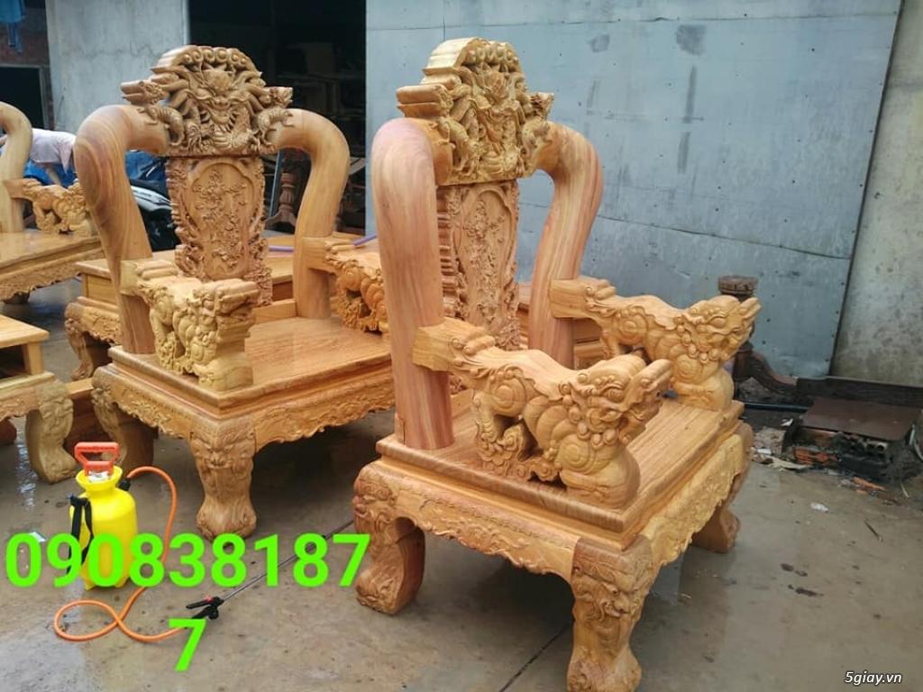 salon phòng khách gỗ quý giá cực rẻ ( xem hàng tại xưởng ) - 15