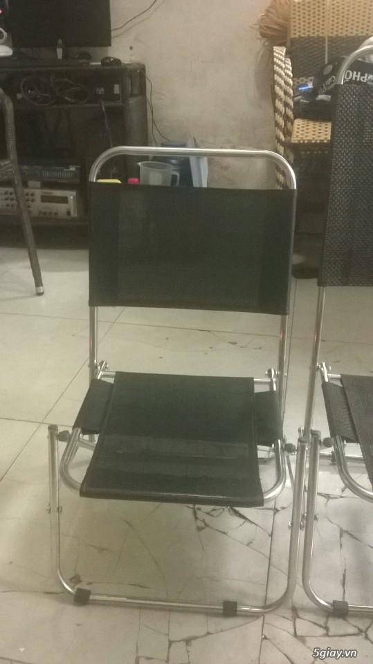 thanh lý ghế xếp cao cấp giá rẻ