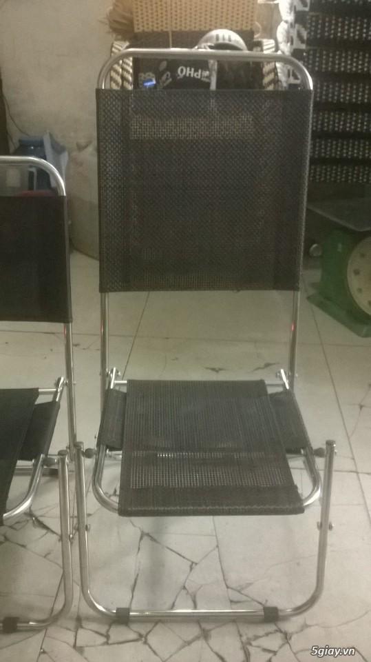 thanh lý ghế xếp cao cấp giá rẻ - 1